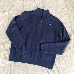 Vineyard Vines Boys Classic Mock Neck Sweater 🐳